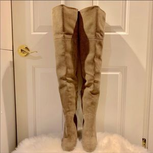 Also thigh high boots brand new